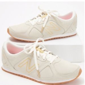 New Balance Suede Lace-Up Sneakers - 560